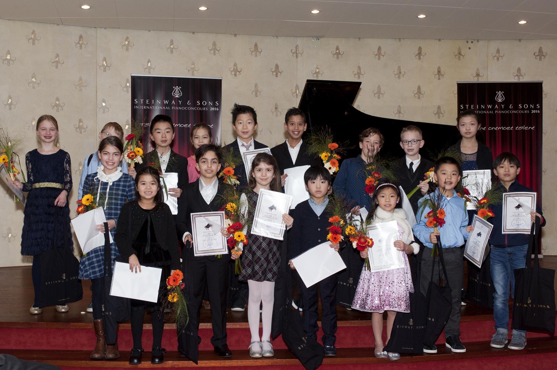 deelnemers categorie A